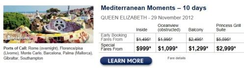 mediterranean, cruises